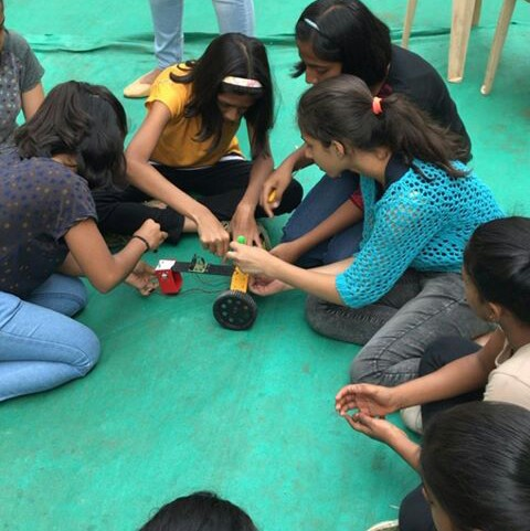 Jogeshwari science and technology program robotics